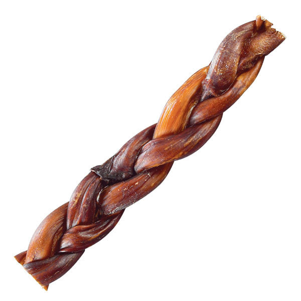 Braided Beef Bully Sticks - Oh My Dog Supply