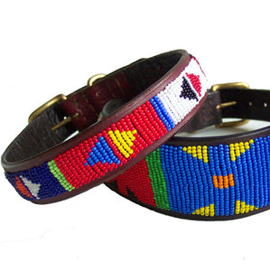 Primary Tribal Dog Collar