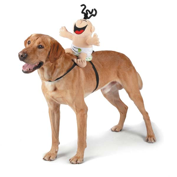 Silly Baby Saddle Doggie Costume