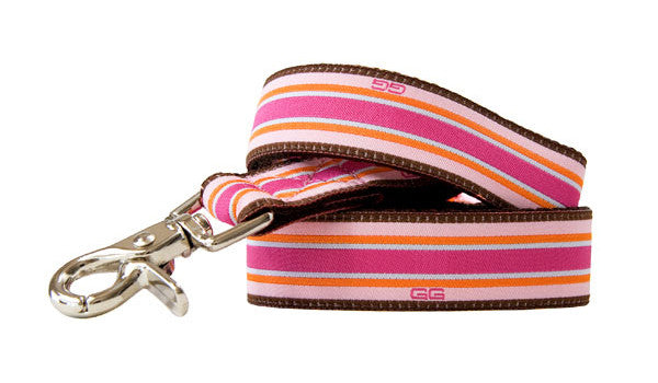 Union Street Dog Leash-Pink