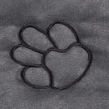 Clearance Paw Print Single Seat Cover