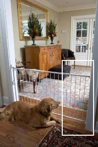 Lockout Dog Gate Width Extension