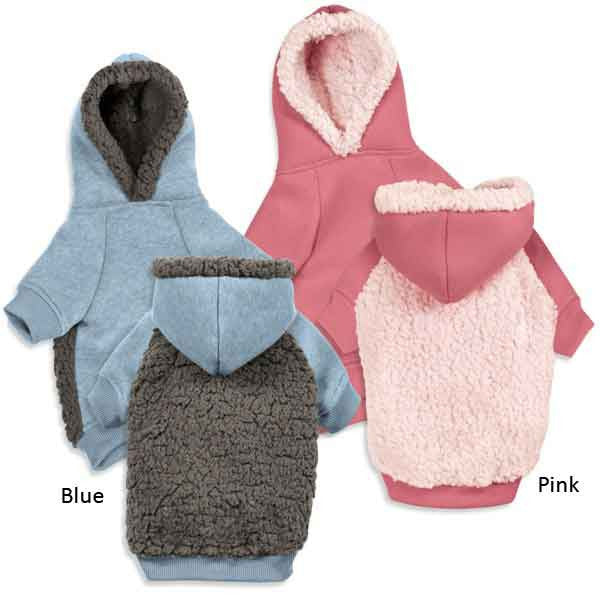 Cozy Fleece Dog Hoodies