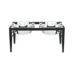 Clearance Polished Elevated Dog Feeders - Oh My Dog Supply