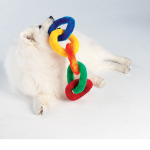 Chain Squeaker Toy - Oh My Dog Supply
