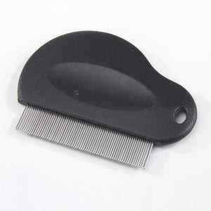 Contoured Grip Flea Comb - Oh My Dog Supply