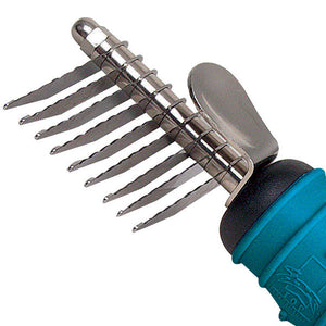 Ergonomic Dematting Comb - Oh My Dog Supply