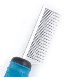 Ergonomic Shedding Comb - Oh My Dog Supply