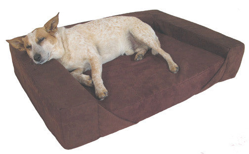 Orthopedic Bolster Dog Bed - Oh My Dog Supply