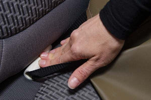 Crypton Reversible Waterproof Seat Cover by Dogpatch Designs - Oh My Dog Supply