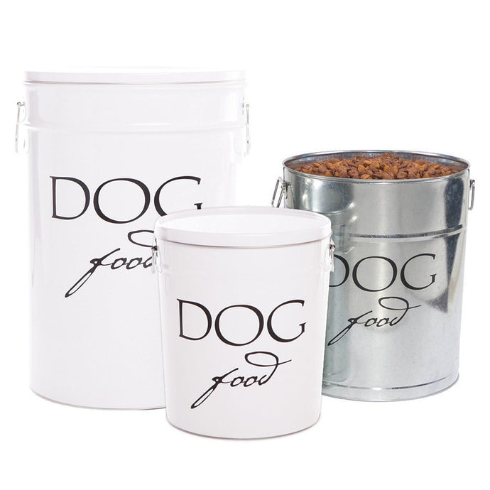 Mason Tin Dog Food Storage