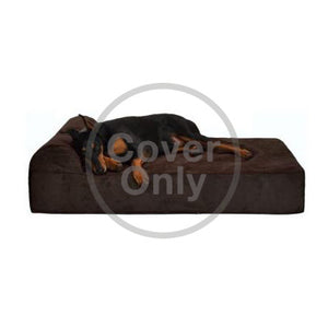 Giant Orthopedic Dog Bed w/ Headrest Cover Only - Oh My Dog Supply