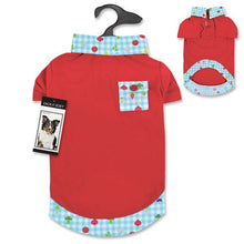 Happy Veggie Polo Dog Shirts - Oh My Dog Supply