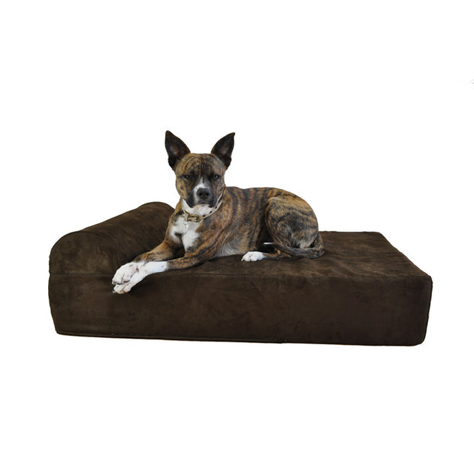 Giant Orthopedic Dog Bed w/ Headrest - Oh My Dog Supply