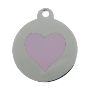 Heart Pet Tag - Oh My Dog Supply