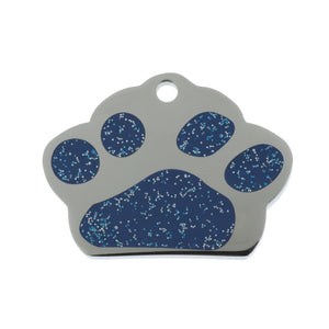 Glitter Paw Pet Tag - Oh My Dog Supply