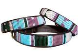 Jacaranda Tribal Dog Collar