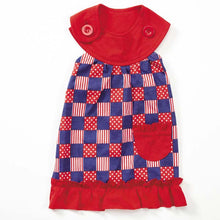 Patriotic Patchwork Dog Dress - Oh My Dog Supply