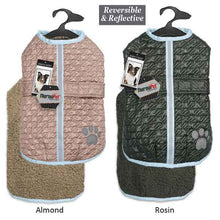 Quilted Warm and Waterproof Dog Jacket