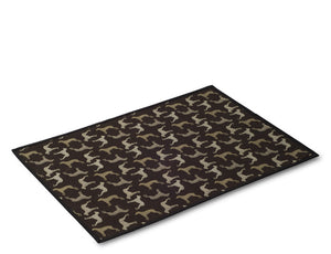 Crypton Rotating Dog Pattern Placemat