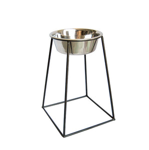 High Rise Dog Bowl Pyramid Feeder - Oh My Dog Supply
