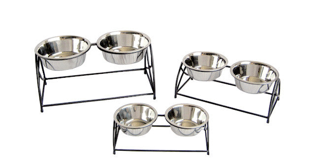Double Bowl Butterfly Feeder