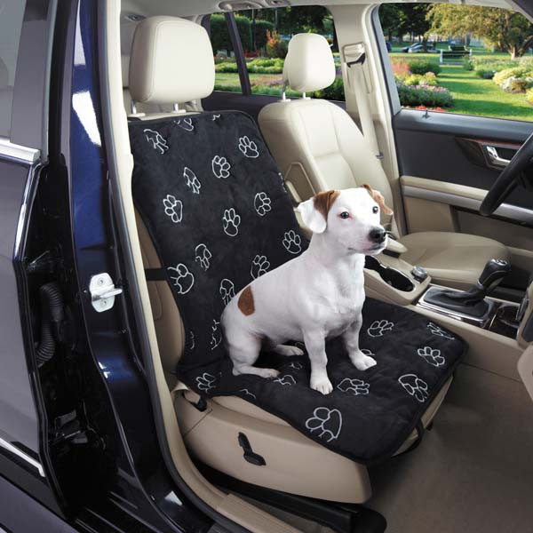 Paw Print Single Seat Cover Oh My Dog Supply