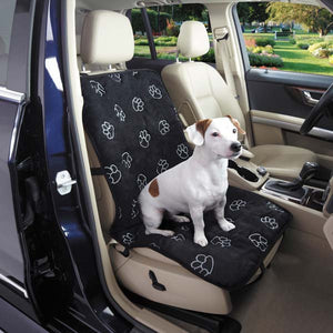 Paw Print Single Seat Cover - Oh My Dog Supply