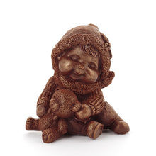 Load image into Gallery viewer, Teddy Bear Chocolate Figure Doll in New York Shop