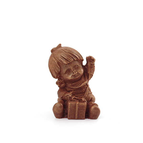 Boy With A Gift Box Chocolate Figure Toys NYC