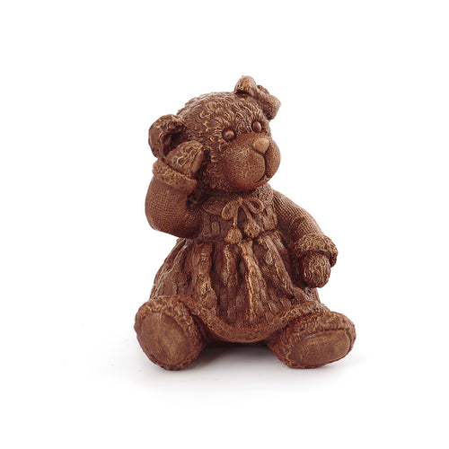 Girl Teddy bear Chocolate Figure