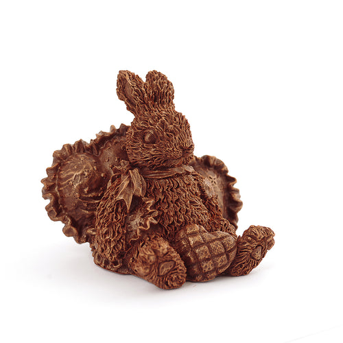Plush Rabbit Chocolate Figure Animals