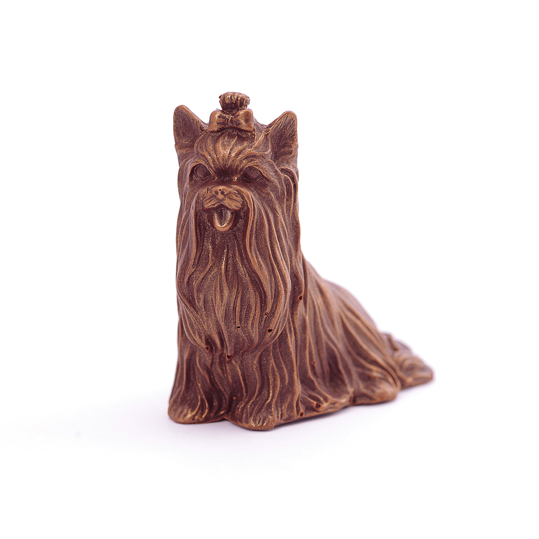 Yorki Dog Chocolate Figure Toys