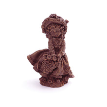 Load image into Gallery viewer, Doll With Basket Chocolate Figure
