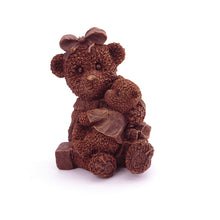 Load image into Gallery viewer, Teddy Bear Chocolate Figure NYC