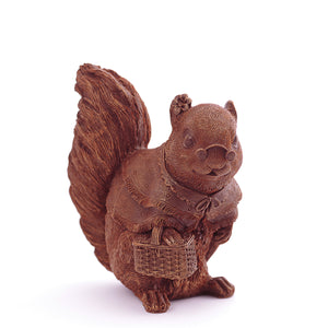 Lady Squirrel Chocolate Figure Animals