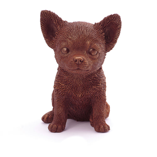 Chihuahua Puppy Chocolate Figure Puppies