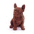 French Bulldog Puppy Chocolate Figure Puppies