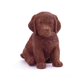 Retriever Puppy Chocolate Figure Puppies