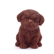 Load image into Gallery viewer, Shih Tzu Puppy Chocolate Figure Puppies NYC