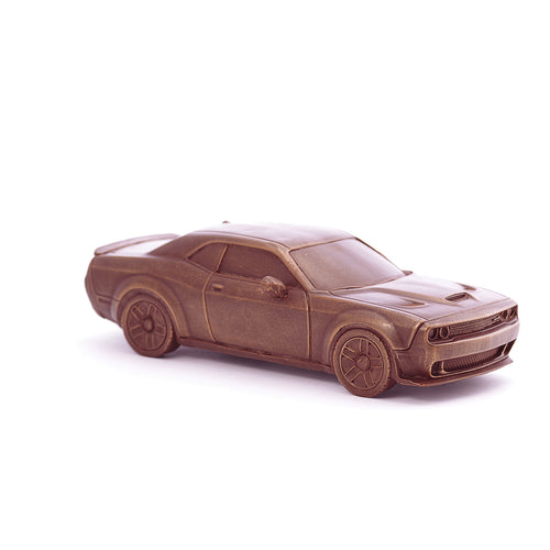 Dodge Challenger Chocolate Figure Car