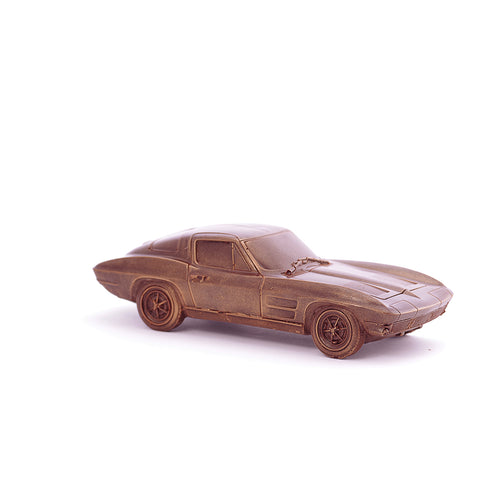 Chevrolet Corvette RETRO Chocolate Figure Car