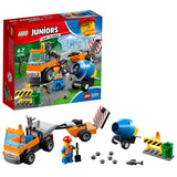 LEGO Juniors Road Repair Truck Building Blocks For Kids 4 to 7 Years (73 pcs) 10750