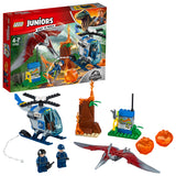 LEGO Juniors Jurassic World Pteranodon Escape Building Blocks For Kids 4 to 7 Years (84 pcs) 10756