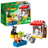 LEGO DUPLO Town Farm Animals Building Blocks For Kids 2 to 5 Years (16 Pcs)10870