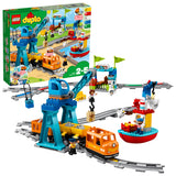 LEGO DUPLO Town Cargo Train Building Blocks For Kids 2 to 5 Years (105 Pcs)10875