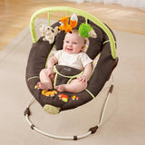 "Summer  Sweet Comfort Musical ""Fox & Friends"" Bouncer Bouncer (Multicolor)"
