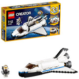 LEGO Creator 3in1 Space Shuttle Explorer Building Blocks For Kids 7 to 12 Years (285 Pcs) 31076