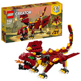 LEGO Creator 3in1 Mythical Creatures Building Blocks For Kids 7 to 12 Years (223 Pcs) 31073