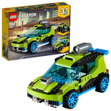 LEGO Creator 3in1 Rocket Rally Car Building Blocks For Kids 7 to 12 Years (241 Pcs) 31074